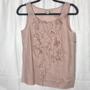 J. CREW pink size 4 100% cotton sleeveless top